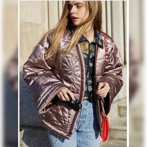 3/$50 👯♀️HOST PICK⚡️UO EmbroideredQuilted Jacket